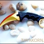 มีดคารัมบิตโกลเด้นฮอว์คคลอ( Hawk Claw ) Goldedn Hawk Claw Karambit Knife