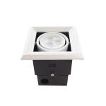 LED Downlight grill 1x3W