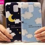 (พร้อมส่ง)เคสมือถือซัมซุงโน๊ต Case Note4 เคสนิ่มพื้นหลังลายสวยๆน่ารักๆ