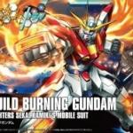HGBF 1/144 Build Burning Gundam