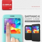 VERUS : Saffiano View K Leather Case Cover for Samsung Galaxy S5, SV, G900