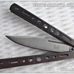 มีดควง White JAKATA Balisong TKBS2014JKT1122