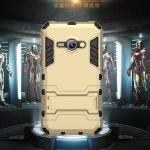 (394-015)เคสมือถือซัมซุง Case Samsung Galaxy J1 เคสนิ่มกันกระแทกสองชิ้นประกบสไตล์ Iron Man