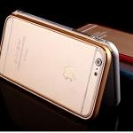 (พร้อมส่ง)เคสมือถือไอโฟน case iphone 6Plus/6S Plus เคสกรอบโลหะหัวรัดเข็มขัดพื้นหลังพลาสติกใส