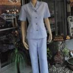 ชุดพยาบาลแบบกางเกง
