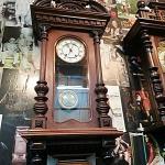 นาฬิกา2ลาน เยอรมัน ตู้บารอค รหัส24857wc3