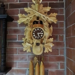 white cuckoo clock(black forrest) รหัส231059ck