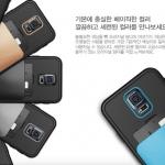 VERUS : DAMDA BASIC Case Hard & Soft Cover Speaker Hole Card Slot for Samsung Galaxy S5, SV, G900