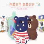 (013-023)เคสมือถือซัมซุง Case Samsung A5 (2016) เคสนิ่มตัวการ์ตูนกระต่ายและหมี 3D