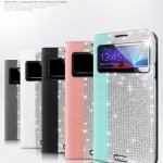 Dreamplus : Guardian Pro Filp Cover Case Card Pocket Crystal Cubic for Samsung Galaxy S5, SV, G900