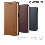 Verus : Premium Genuine Leather Wallet Case Cover For Samsung Galaxy S6