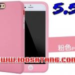 (พร้อมส่ง)เคสมือถือไอโฟน case iphone 6 Plus/6S Plus เคสนิ่มสีลูกกวาดแบบคลุมปุ่มโฮม