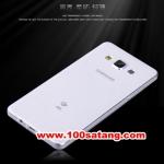 (027-443)เคสมือถือซัมซุง Case Samsung A8 เคสนิ่มใสพื้นผิวกันรอยนิ้วมือ