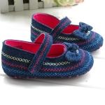 BE2032 (Pre) รองเท้าผ้า สาวน้อย (0-1 ขวบ)