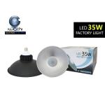 ไฮเบย์ รุ่นกันน้ำ (black) IWC-HIB-E27-35W มีแสงขาวและวอม