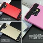(413-030)เคสมือถือซัมซุง Case Samsung A5 (2016) เคสนิ่มทูโทนพื้นหลังลายขนแปรง