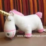 ตุ๊กตาม้ายูนิคอร์น Unicorn จากการ์ตูนเรื่อง DESPICABLE ME2 ขนาด 12 นิ้ว ลิขสิทธิ์แท้