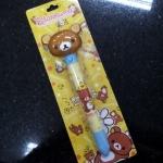 ปากกา บวก พัดลม 2 in 1 ลาย Rilakkuma (ซื้อ 3 ชิ้น ราคาส่ง 150 บาท/ชิ้น)