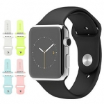 Baseus : Color Silicone Scrap For Apple Watch (38mm) & (42mm)