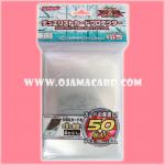 Yu-Gi-Oh! ZEXAL OCG Duelist Card Protector / Sleeve - Large Clear x50