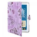Case เคส Postcard Samsung Galaxy Note 10.1 (N8000)Purple