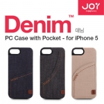 Denim Joy Factory Case with Pocket ES For Apple iPhone 5