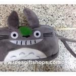 กระเป๋าใส่เครื่องสำอางค์ หรือ ดินสอ มีซิป 2 ช่อง ลาย Totoro