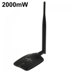 USB Wireless WiFi 10000G 2000mW 54Mbps 6dBi Antenna Free wifi link