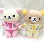 ตุ๊กตาน้องหมี Rilakkuma และ Korilakkuma คู่อวกาศ (ราคาต่อคู่ค่ะ)
