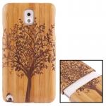 Woodcarving Tree Pattern Detachable Bamboo Material Case เคส Samsung Galaxy Note 3 (III) / N9000 ซัมซุง กาแล็คซี่ โน๊ต 3