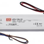 Meanwell LED Driver LPV 100-12/24 IP67