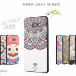 (431-002)เคสมือถือซัมซุง Case Samsung A5 (2016) เคสนิ่มบางลายการ์ตูนลายเส้นนูน 3D