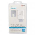 Micro 5 Pin USB Sync Cable + US Plug Travel Charger for Samsung Galaxy i9500 / i9300 / i9220 / N7000 / i9100 / S5830 / i9082 /i9260 / HTC G21/G18/G17/G12/G10 / Blackberry Z10 / Q10 / 9900 / 9800/ 8900 / LG / HTC / Sony Xperia Series etc (US Plug)