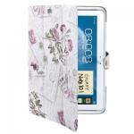 Case เคส Postcard Samsung Galaxy Note 10.1 (N8000)White