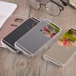 (291-018)เคสมือถือซัมซุง Case Samsung Galaxy S7 เคสนิ่มใสพื้นหลังแววสะท้อนคล้ายกระจก