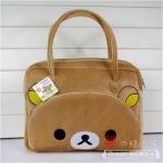 กระเป๋าถือ Rilakkuma ขนาด 36x43 cm (ซื้อ 3 ชิ้น ราคาส่งชิ้นละ 280 บาท)