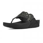 FitFlop Women's Flora Sandals - Black US 6