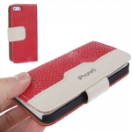 Case เคส Straw Mat iPhone 5 (Red)