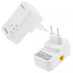 500Mbps Powerline Mini Bridge, 7HP150 (White)