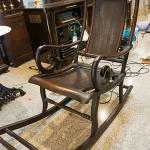 เ้ก้าอี้โยกโบราณไม้ชิงชันรหัส21558cy