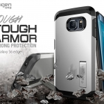 Spigen : Tough Armor Case Heavy Duty Cover + Built-In Stand For Samsung Galaxy S6 Edge