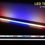 ไฟLED T8 สีธงชาติ