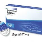 BAUSCH & LOMB SofLens 59 (1กล่อง มี 3 คู่) คอนแทคเลนส์รายเดือน ราคาถูกสุด