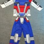 Gundam (งานลิขสิทธิ์) ชุดแฟนซีเด็กกันดั้ม ชุดมี 3 ชิ้น เสื้อ กางเกง และหน้ากาก ให้คุณหนูๆ ได้ใส่ตามจิตนาการ ผ้ามัน Polyester ใส่สบายค่ะ หรือจะใส่เป็นชุดนอนก็ได้ค่ะ size S, M, L, XL