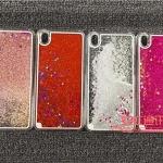 (291-022)เคสมือถือ Case OPPO F1 Plus (R9) เคสพลาสติกใส Glitter กากเพชร