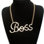 I am a BOSS Necklace รู้ซะไผเป็นไผ กับสร้อยคอเส้นใหญ่ ชั้นนี่แหละเจ้านายเธอว์