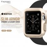 Spigen : Slim Armor Dynamic & Elegant Cover For Apple Watch (38mm) & (42mm)