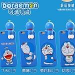(462-019)เคสมือถือไอโฟน case iphone 5/5s/SE เคสนิ่มโดเรมอน 3D