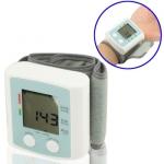 เครื่องวัดความดัน ความดันโลหิต อัตราการเต้นหัวใจ แบบพันข้อมือ อัตโนมัติ