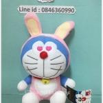 ตุ๊กตาโดเรม่อน Doraemon 12 ราศี ปีกระต่าย ขนาด 7 นิ้ว ลิขสิทธิ์แท้